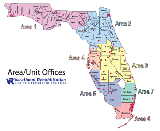 VR Map of Florida